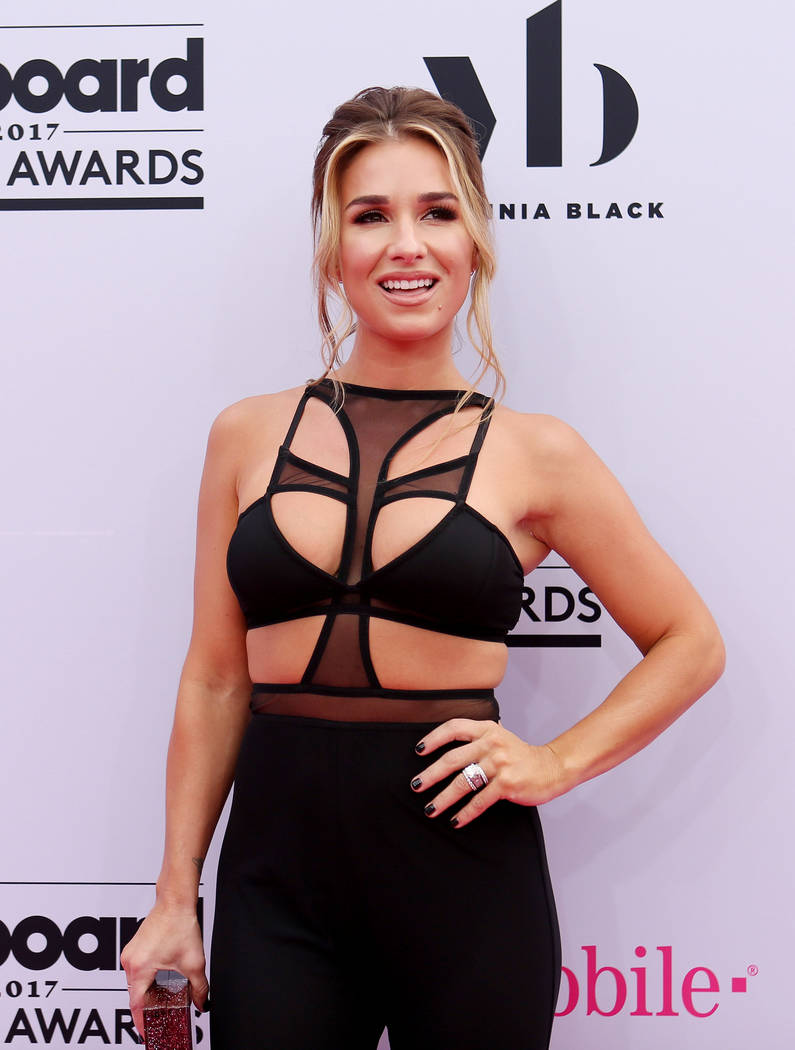 Jessie James Decker during the 2017 Billboard Music Awards at T-Mobile Arena in Las Vegas Sunday May, 21, 2017. Elizabeth Brumley Las Vegas Review-Journal @EliPagePhoto