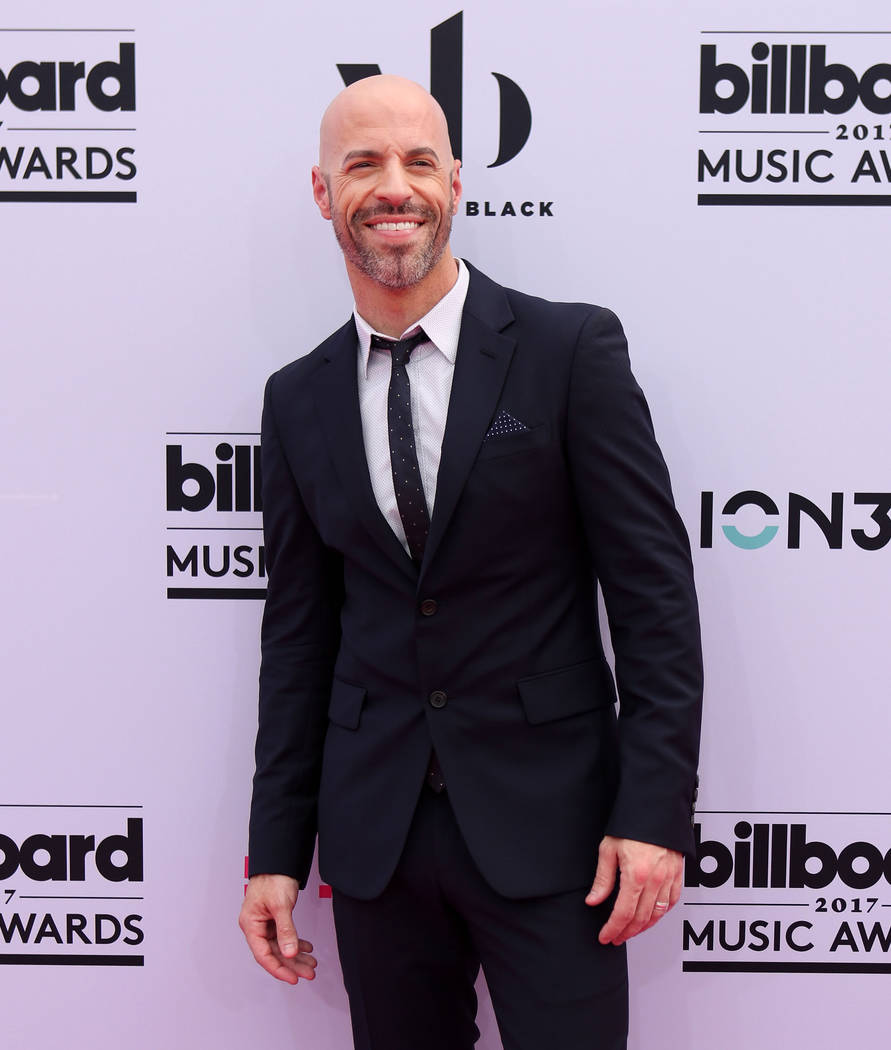 Chris Daughtry during the Billboard Music Awards at T-Mobile Arena in Las Vegas Sunday May, 21, 2017. Elizabeth Brumley Las Vegas Review-Journal @EliPagePhoto