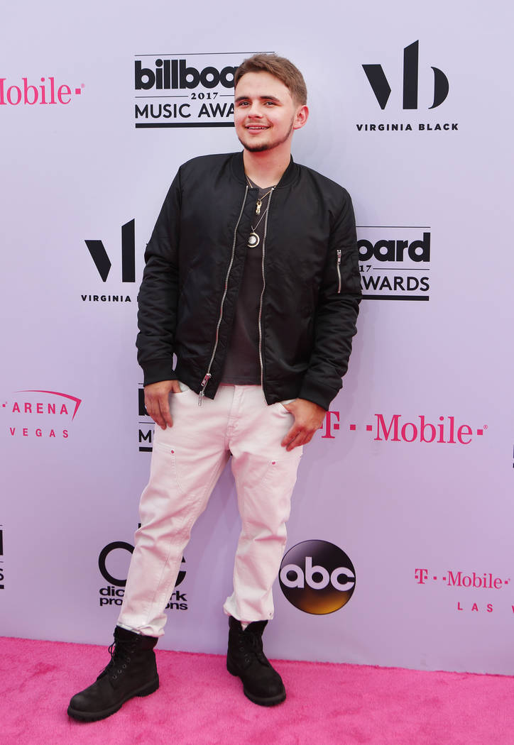 Prince Michael Jackson during the Billboard Music Awards at T-Mobile Arena in Las Vegas Sunday May, 21, 2017. Elizabeth Brumley Las Vegas Review-Journal @EliPagePhoto