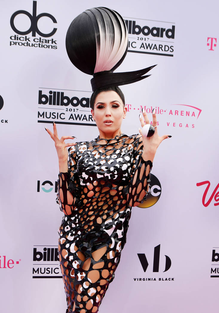 Singer Z LaLa during the 2017 Billboard Music Awards at T-Mobile Arena in Las Vegas Sunday May, 21, 2017. Elizabeth Brumley Las Vegas Review-Journal @EliPagePhoto