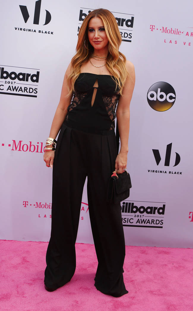 Ashley Tisdale during the Billboard Music Awards at T-Mobile Arena in Las Vegas Sunday May, 21, 2017. Elizabeth Brumley Las Vegas Review-Journal @EliPagePhoto