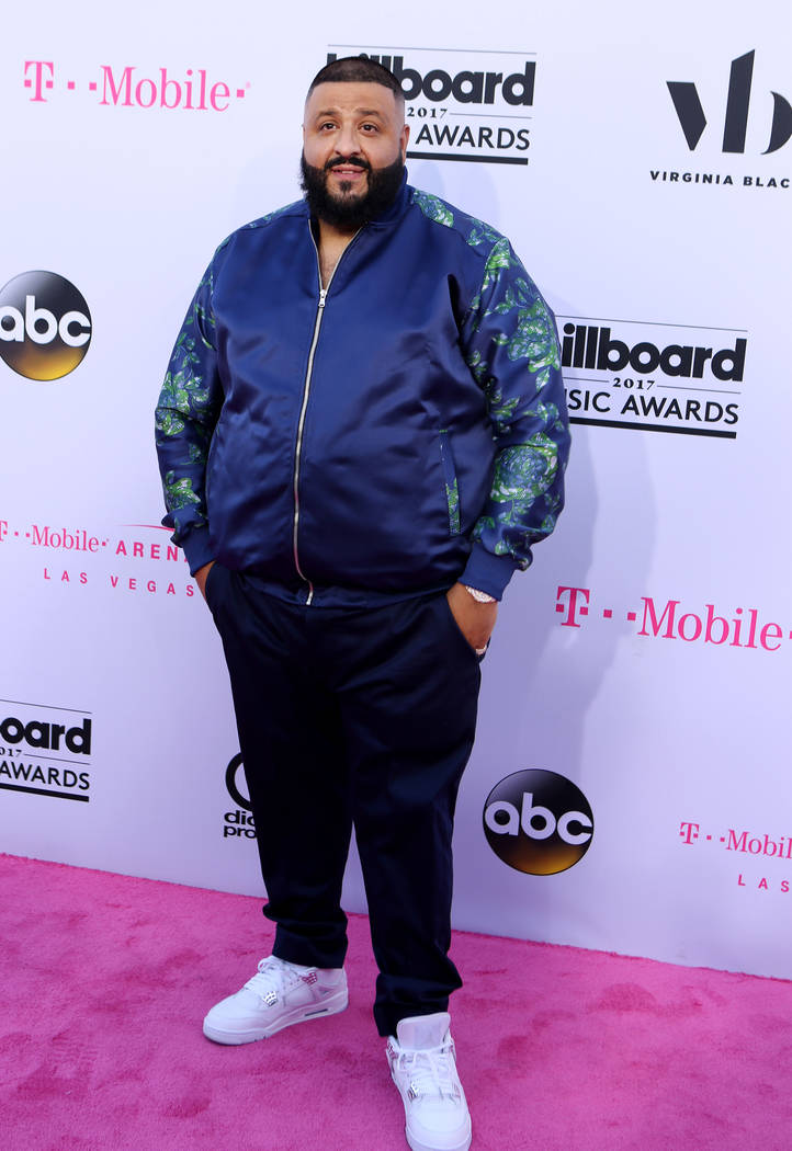 DJ Kahled during the Billboard Music Awards at T-Mobile Arena in Las Vegas Sunday May, 21, 2017. Elizabeth Brumley Las Vegas Review-Journal @EliPagePhoto