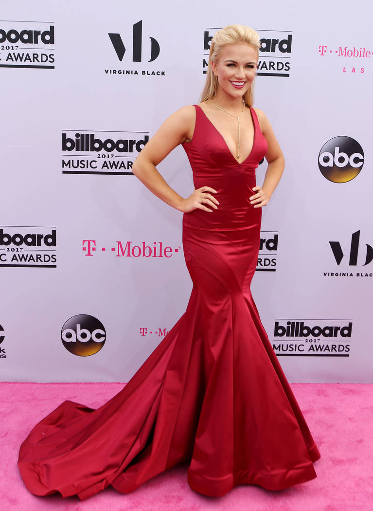 Miss America 2017 Savvy Shields during the Billboard Music Awards at T-Mobile Arena in Las Vegas Sunday May, 21, 2017. Elizabeth Brumley Las Vegas Review-Journal @EliPagePhoto