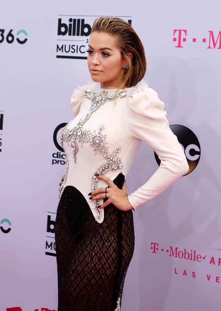 Rita Ora during the 2017 Billboard Music Awards at T-Mobile Arena in Las Vegas Sunday May, 21, 2017. Elizabeth Brumley Las Vegas Review-Journal @EliPagePhoto