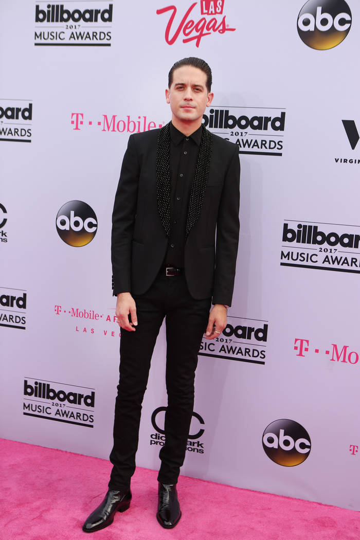 G-Eazy during the 2017 Billboard Music Awards at T-Mobile Arena in Las Vegas Sunday May, 21, 2017. Elizabeth Brumley Las Vegas Review-Journal @EliPagePhoto