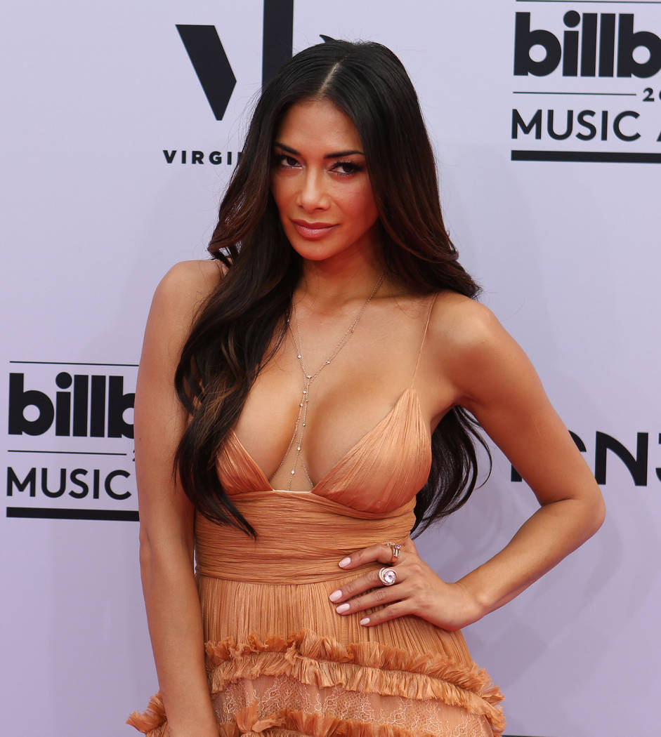 Nicole Scherzinger during the 2017 Billboard Music Awards at T-Mobile Arena in Las Vegas Sunday May, 21, 2017. Elizabeth Brumley Las Vegas Review-Journal @EliPagePhoto