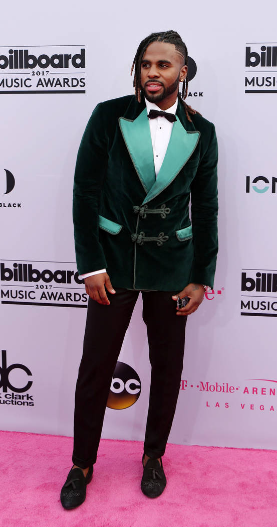 Jason Derulo during the 2017 Billboard Music Awards at T-Mobile Arena in Las Vegas Sunday May, 21, 2017. Elizabeth Brumley Las Vegas Review-Journal @EliPagePhoto