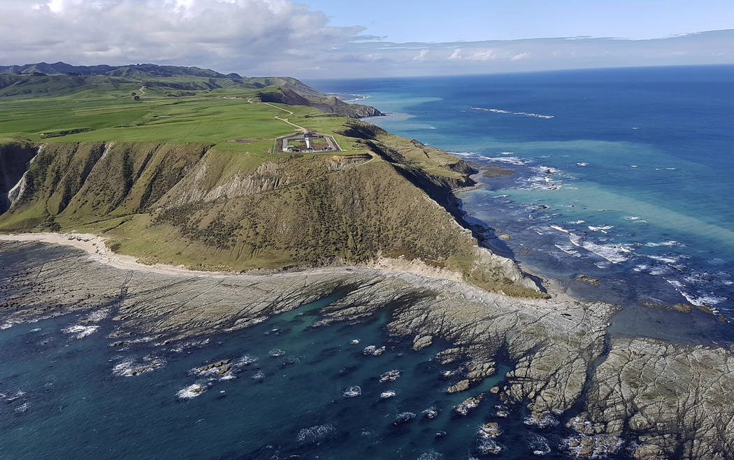 This Sept. 23, 2016 photo supplied by Rocket Lab, shows the launch site for the Electron rocket on the Mahia Peninsula in the North Island of New Zealand. New Zealand has never had a space program ...