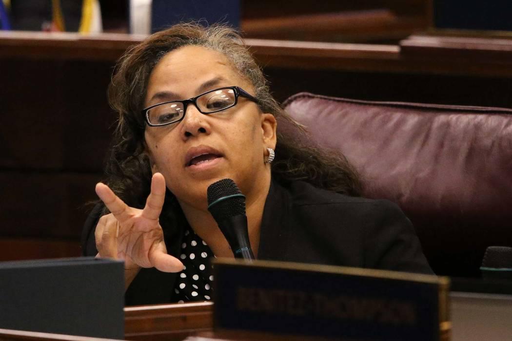 Nevada Assemblywoman Dina Neal, D-North Las Vegas. (Cathleen Allison/Las Vegas Review-Journal)