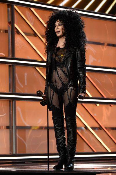 Cher receives The Icon Award during The 2017 Billboard Music Awards at T-Mobile Arena on Sunday, May 21, 2017, in Las Vegas. (Kevin Mazur/Getty Images for ABC)