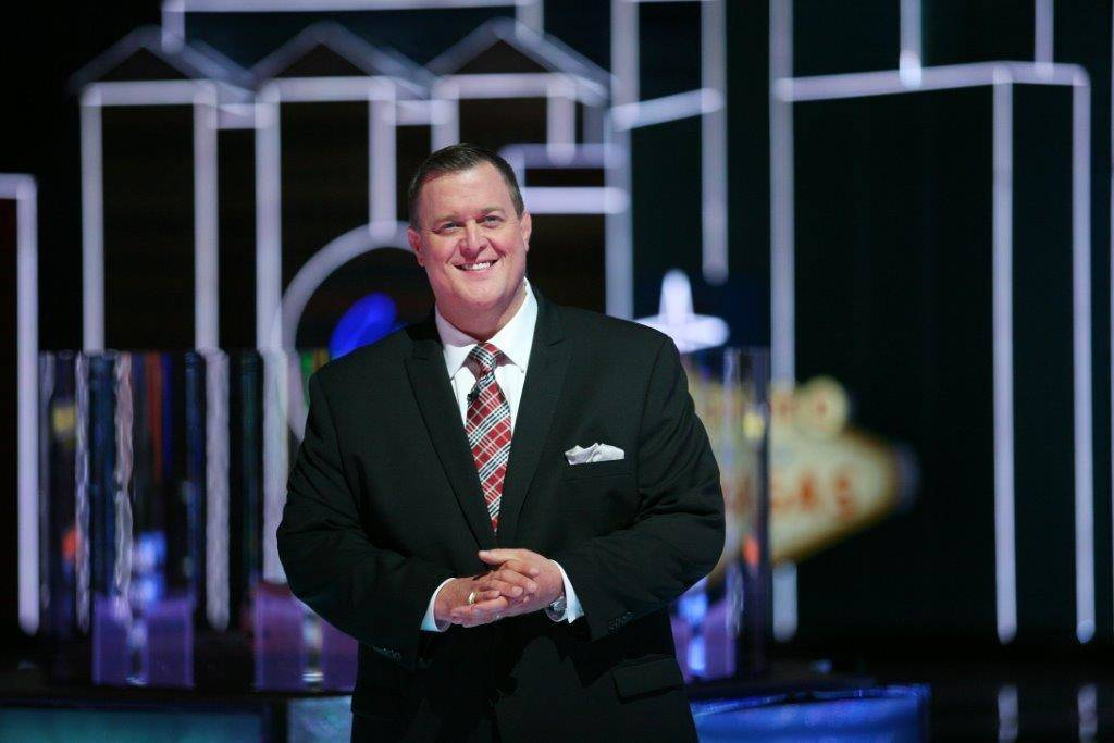 """Billy Gardell hosts """"The Monopoly Millionaires Club"""" at The Rio in Las Vegas. The gameshow ended in May 2016 after two seasons. (Courtesy)"""