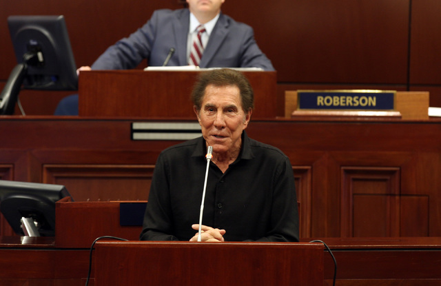 CEO of Wynn Resorts, Steve Wynn, was one of the highest paid CEOs in 2016, according to a study carried out by the executive compensation data firm Equilar and The Associated Press. (Heidi Fang/La ...