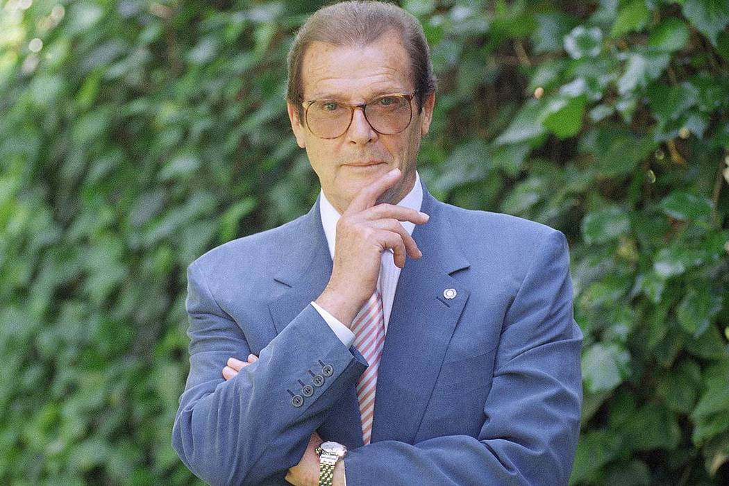 Roger Moore's family said Tuesday May 23, 2017 that the former James Bond star has died after a short battle with cancer (Chris Pizzello/AP)