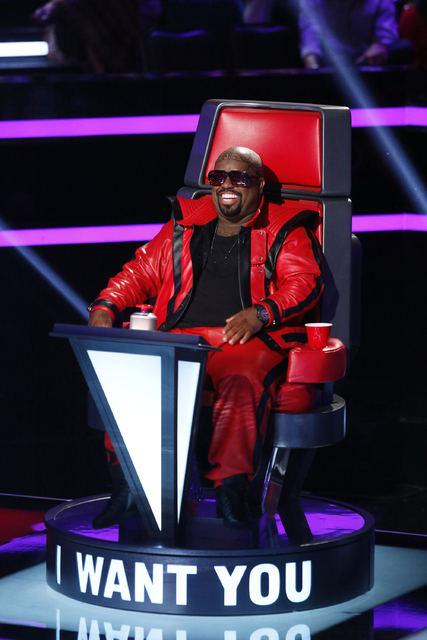 "CeeLo Green on NBC's ""The Voice"" in 2013. (Trae Patton/NBC)"