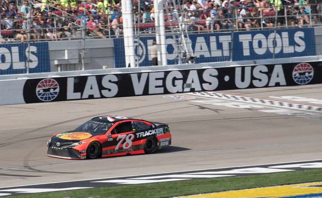 The Kobalt 400 at Las Vegas Motor Speedway on Sunday, March 12, 2017. Martin Truex Jr. won the NASCAR race. (Tom Donoghue)