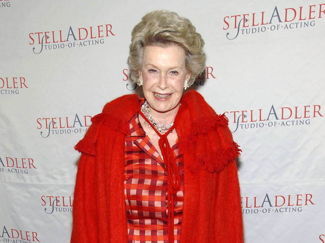 Actress Dina Merrill attends the fourth annual Stella by Starlight benefit March 17, 2008, in New York. (Evan Agostini/File, AP)