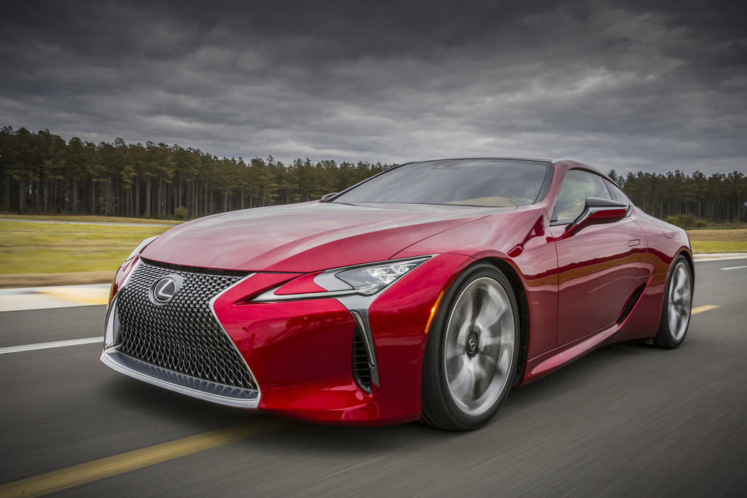 Lexus The LC 500 performance coupe opens a new chapter in Lexus' brand history.