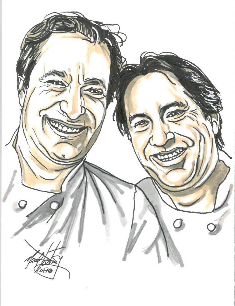 Bruce and Eric Bromberg. Neal PortnoyLas Vegas Review-Journal