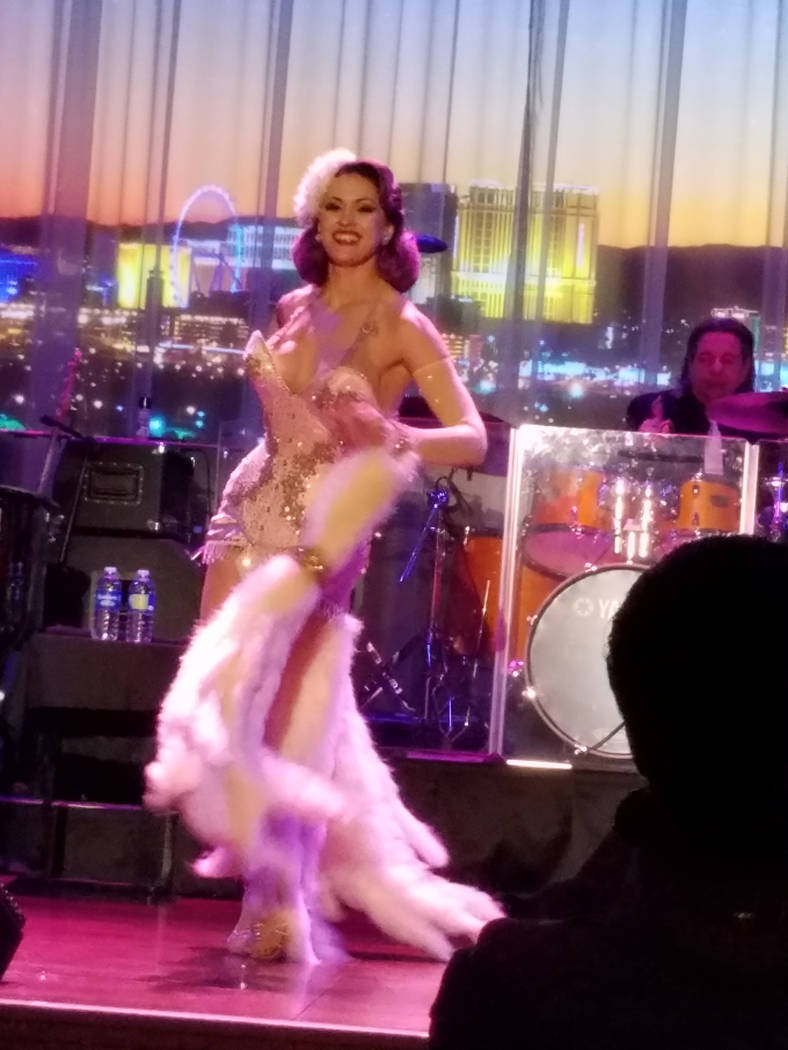"Melody Sweets' ""The Sweets Spot"" at Myron's Cabaret Jazz at The Smith Center for the Performing Arts on Monday, May 22, 2017, in Las Vegas. (TVT)"