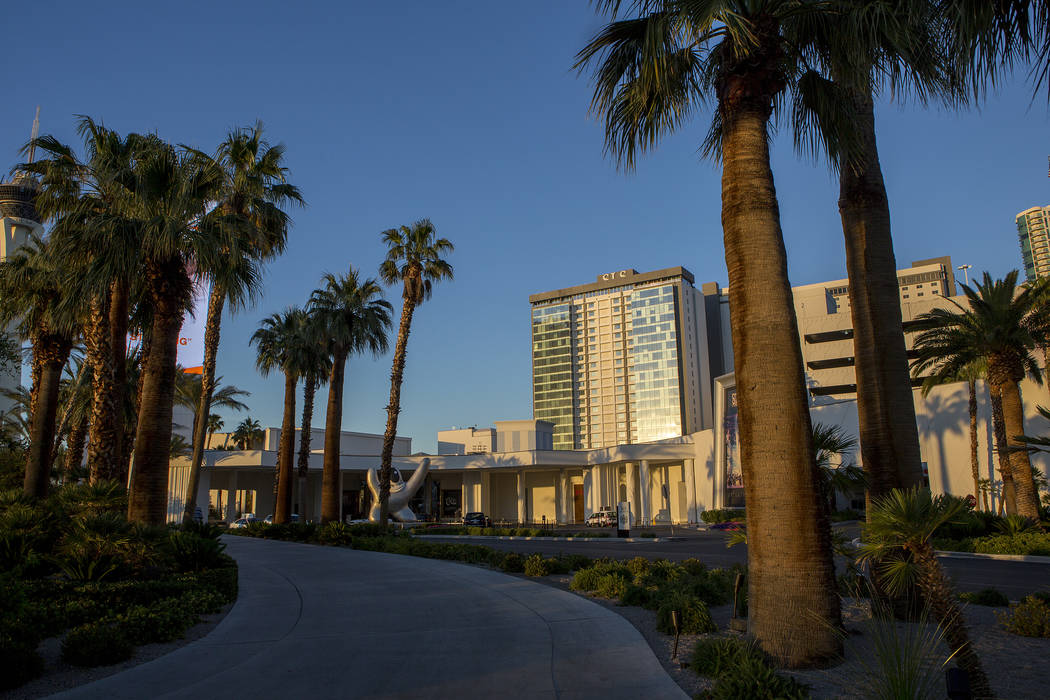 SLS Las Vegas, located near the intersection of West Sahara Avenue and South Las Vegas Boulevard, is pictured on Tuesday, May 23, 2017, in Las Vegas. SLS Las Vegas has been agreed to be bought by  ...
