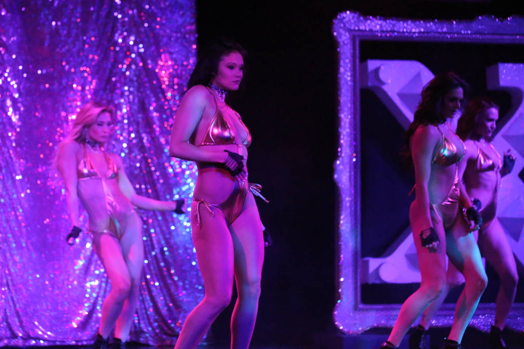 """""""X Burlesque"""" at The Flamingo on Thursday, May 18, 2017, in Las Vegas. (Edison Graff/Stardust Fallout)"""