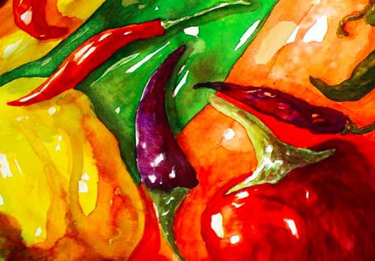 """""""Hot Peppers"""" (Sita Loop)"""