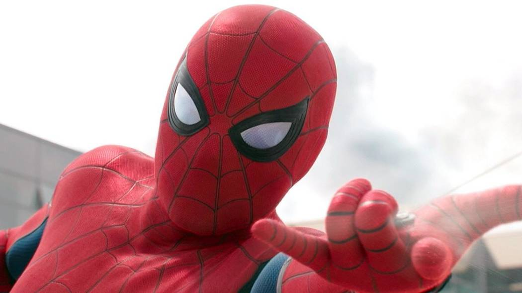 "Tom Holland stars as the title hero in ""Spider-Man: Homecoming."" (Courtesy)"