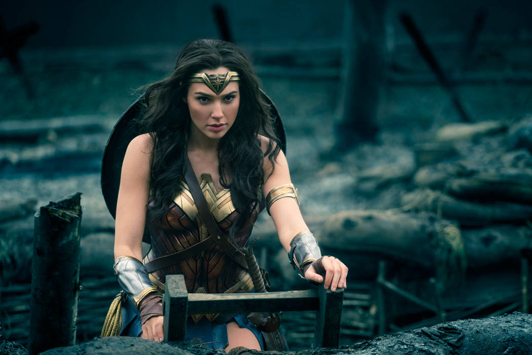 "Gal Gadot stars as the title hero in ""Wonder Woman."" (Courtesy)"