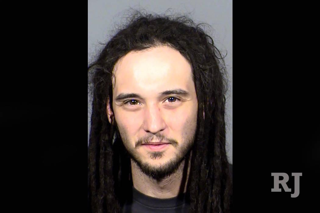 Jacob Dezsi. (Las Vegas Metropolitan Police Department)