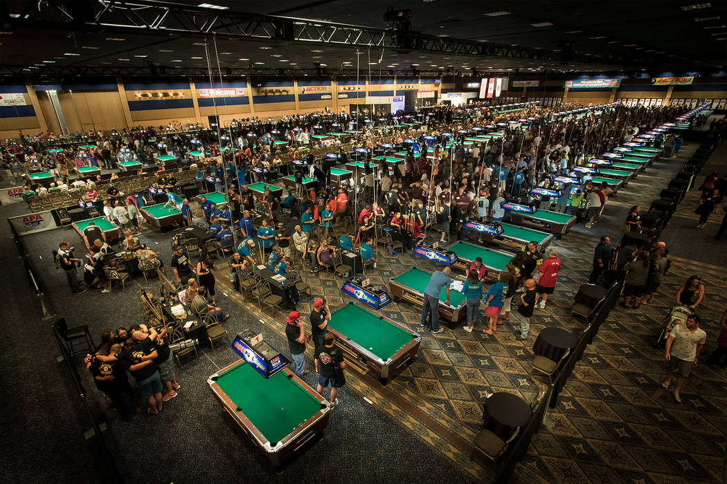 A tournament room at Westgate in Las Vegas. (Courtesy)