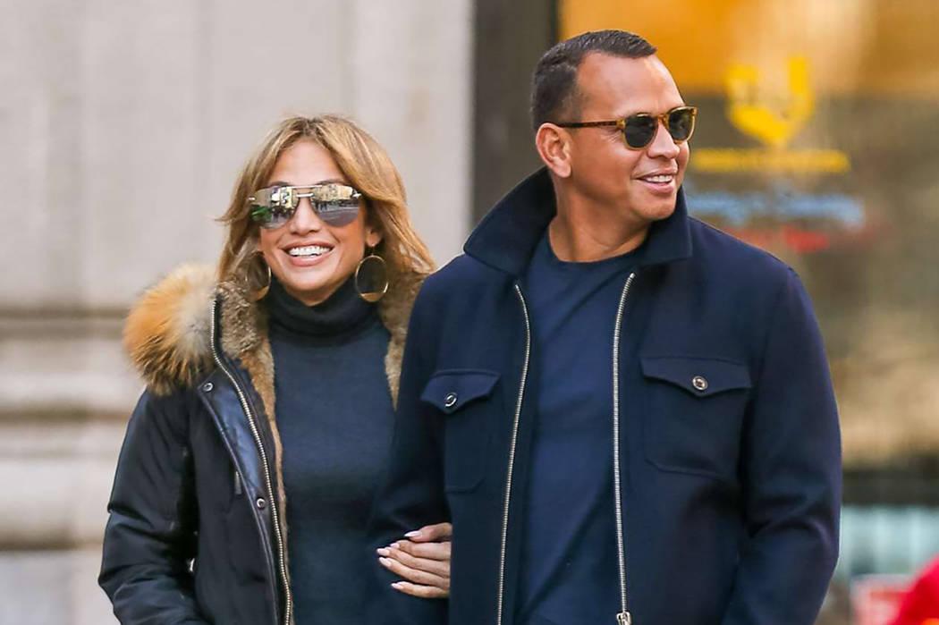 Jennifer Lopez and Alex Rodriguez. (Courtesy)