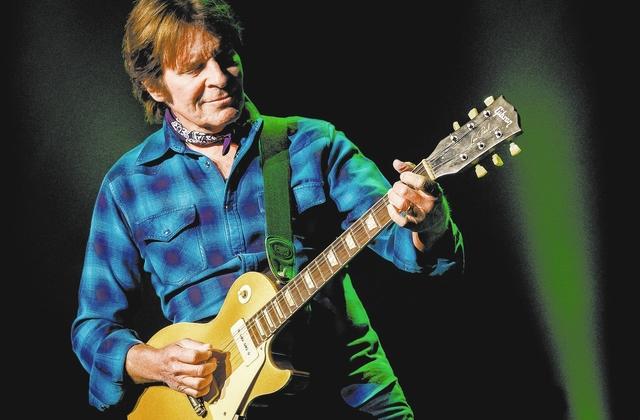 John Fogerty performs at The Venetian Theater last September in Las Vegas. (Erik Kabik)