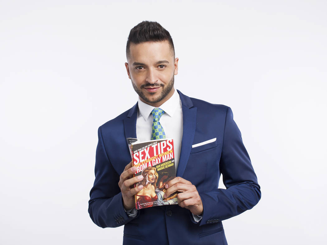 "Jai Rodriguez stars in ""Sex Tips for Straight Women From a Gay Man"" at Paris Las Vegas. (SPI Entertainment)"