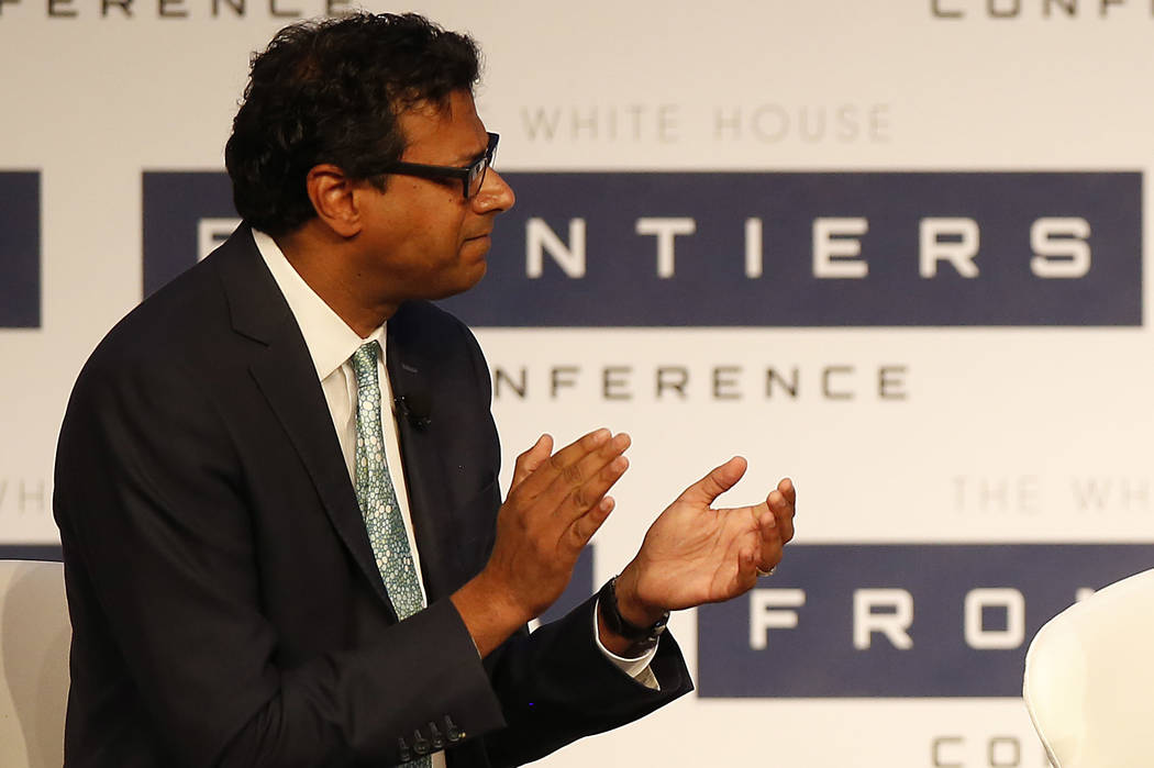 Dr. Atul Gawande on Oct. 13, 2016. (Jared Wickerham/AP)