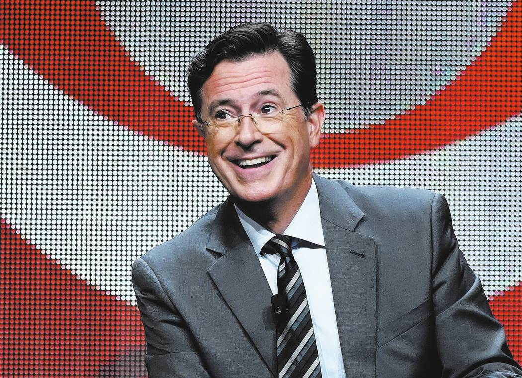 Stephen Colbert. Photo by Richard Shotwell/Invision/AP, File