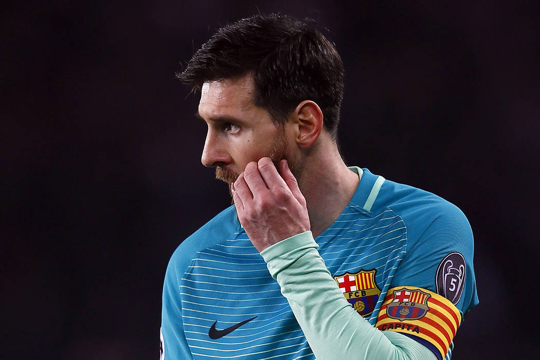 Lionel Messi. (AP Photo/Francois Mori)