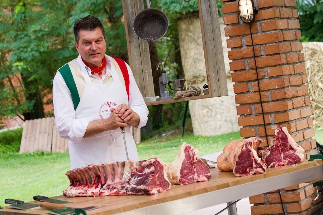 World-renowned butcher Dario Cecchini of Panzano, Italy. (Courtesy)