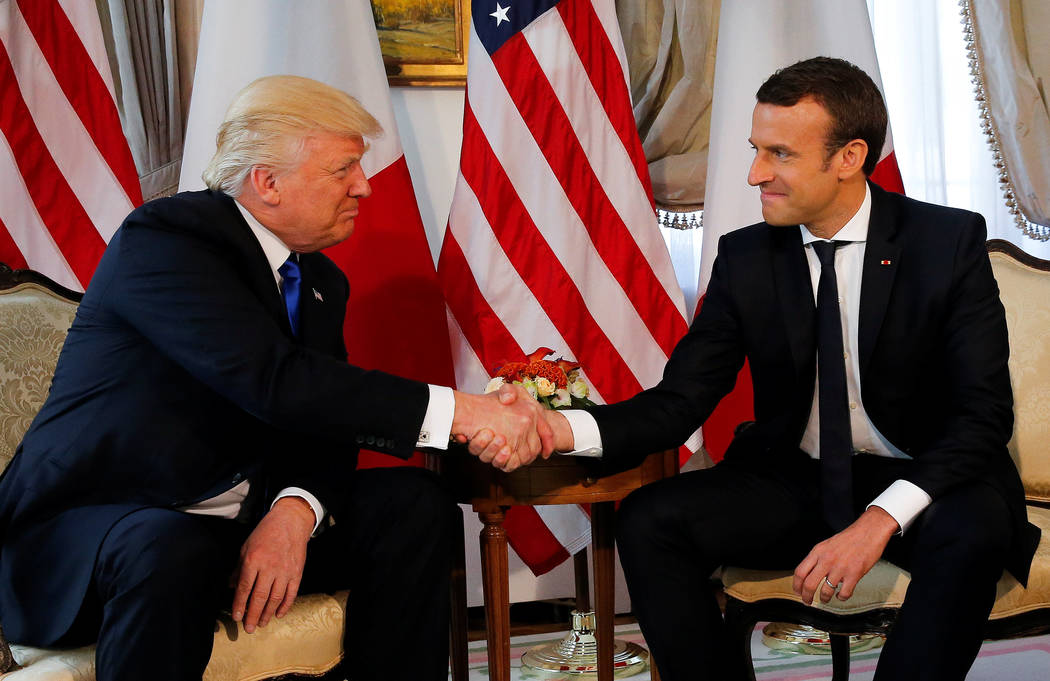 : Trump's unspoken words leave NATO allies wondering – Las Vegas ...