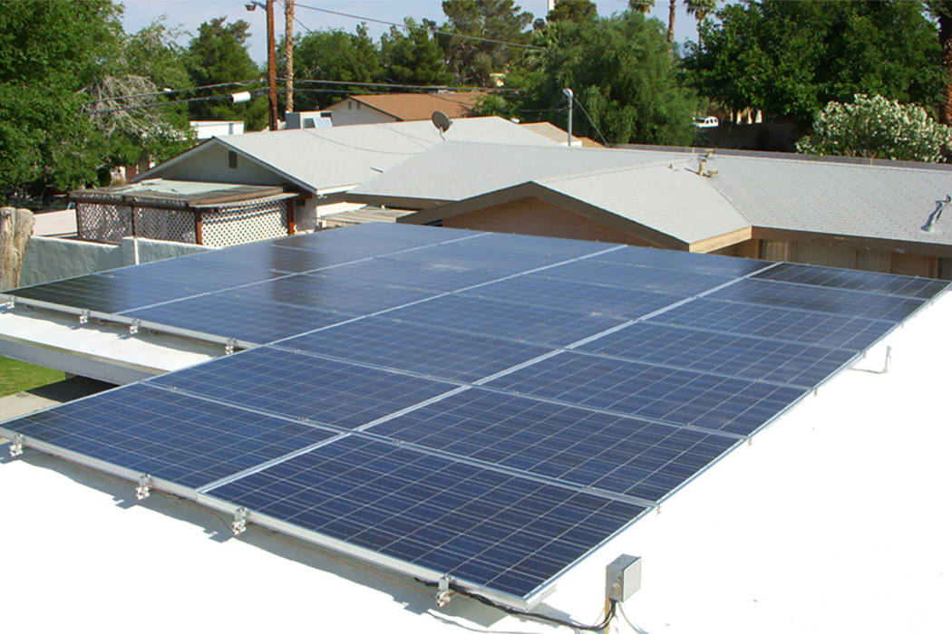 solar group takes issue with nv energy cost projections las vegas