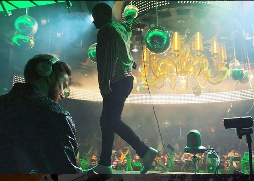 David Guetta and Joe Jonas at XS at Encore on Saturday, May 20, 2017, in Las Vegas. (Instagram)