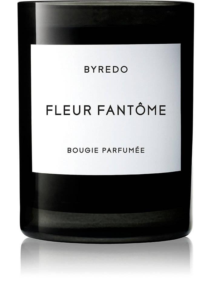 Byredo's Fleur Fantôme candle. $80, barneys.com