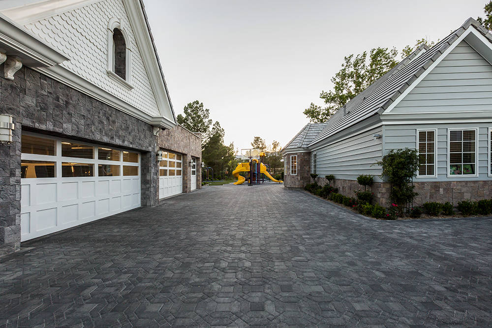 The home has a six-car garage. (The Tom Love Group)