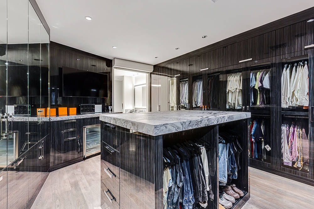 His closet. (The Tom Love Group)