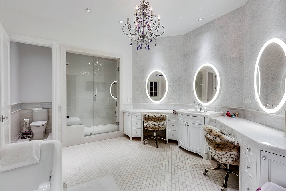 One of 12 baths. (The Tom Love Group)