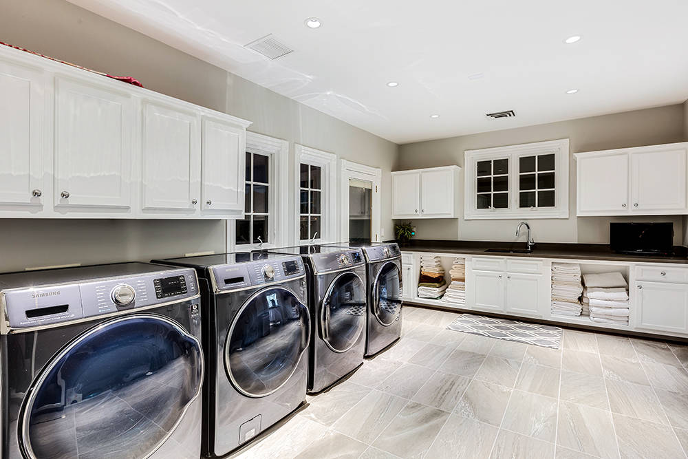 The laundry room is large. (The Tom Love Group)