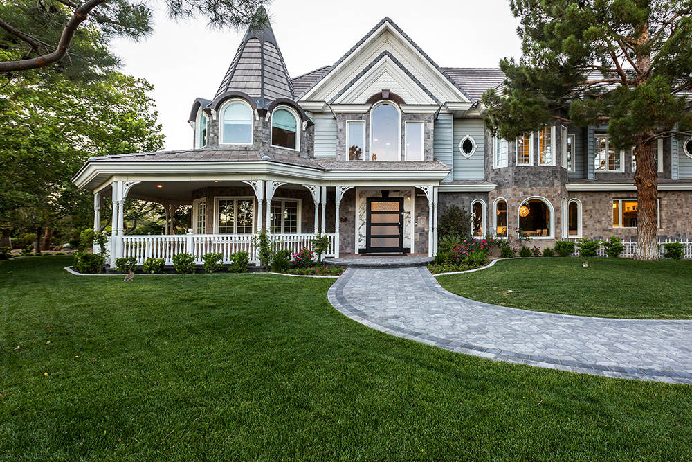 Luxury Realtor Tom Love said he plans to list his Queensridge home for $8 million. He purchased it for $2 million in 2013. (The Tom Love Group)