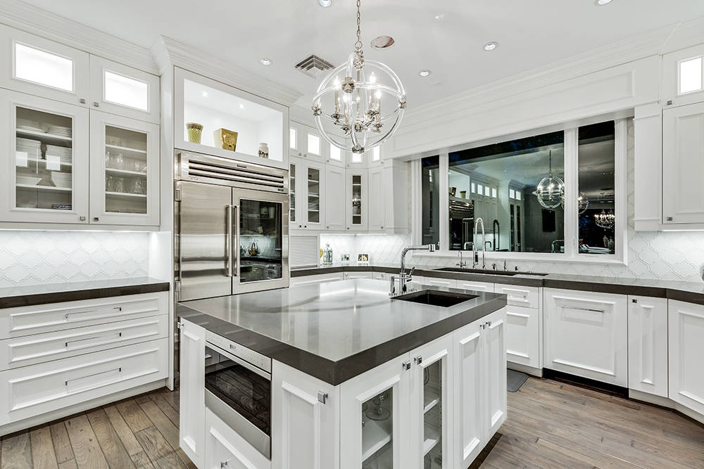 The kitchen has all the latest appliances. (The Tom Love Group)