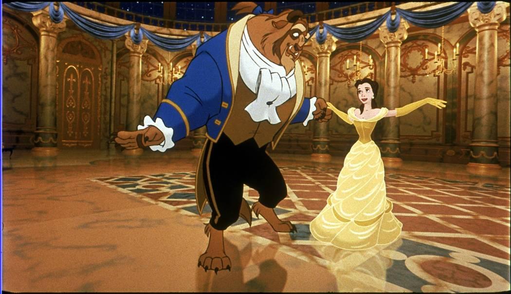 "Walt Disney's ""Beauty and the Beast"" (1991). (Courtesy)"