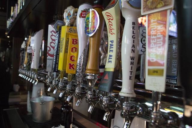 PKWY Tavern has over 250 beer on tap on Friday, Feb. 10, 2017, in Las Vegas. (Bridget Bennett/Las Vegas Review-Journal) @bridgetkbennett