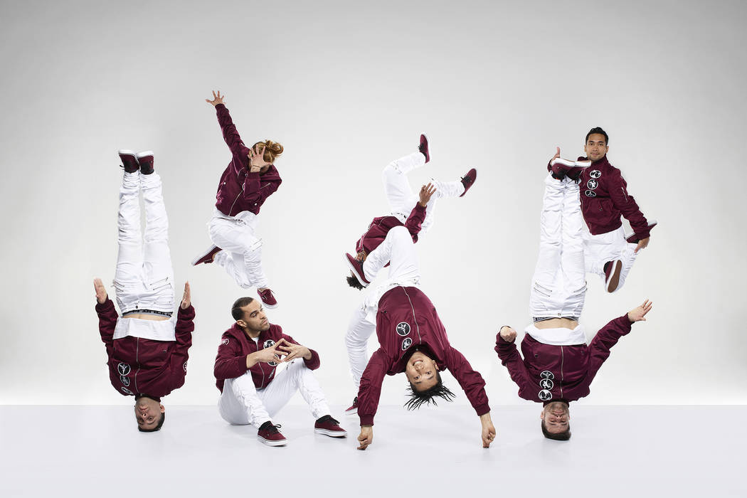 "Super Cr3w compete on ""World of Dance."" Andrew Eccles NBC"